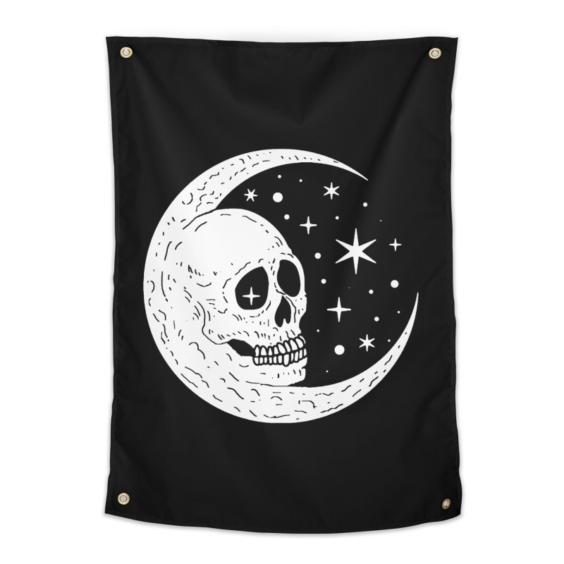 Cosmic Skull Home Tapestry by nikolking's Artist Shop