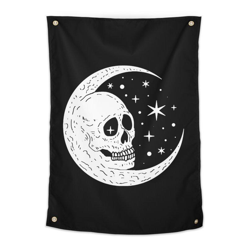 Cosmic Skull Home Tapestry by nikolking's Artist Shop