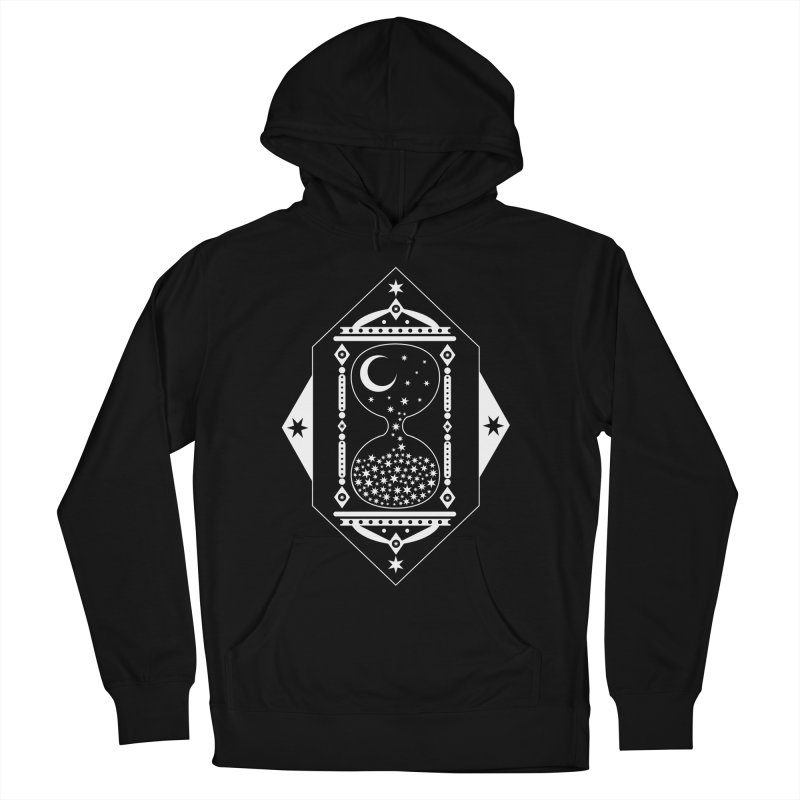 The Hours Glass Men's French Terry Pullover Hoody by nikolking's Artist Shop