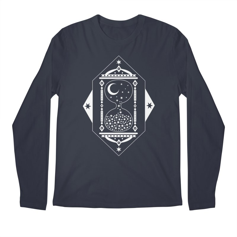 The Hours Glass Men's Longsleeve T-Shirt by nikolking's Artist Shop