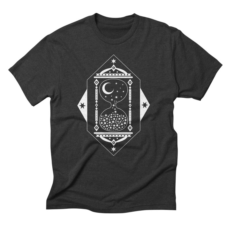 The Hours Glass Men's Triblend T-Shirt by nikolking's Artist Shop