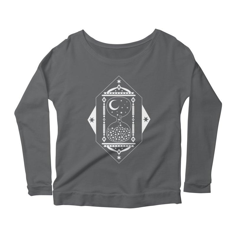 The Hours Glass Women's Scoop Neck Longsleeve T-Shirt by nikolking's Artist Shop