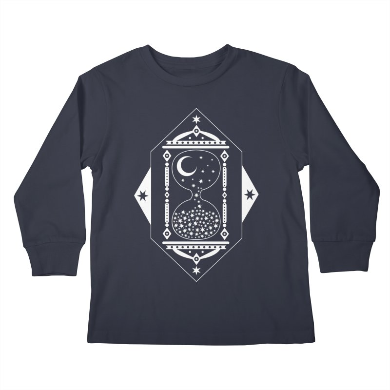 The Hours Glass Kids Longsleeve T-Shirt by Nikol King's Artist Shop