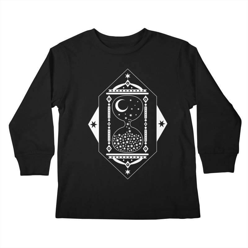 The Hours Glass Kids Longsleeve T-Shirt by nikolking's Artist Shop
