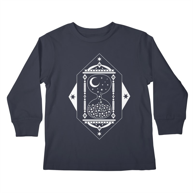 The Hours Glass Kids Longsleeve T-Shirt by nikolking's Artist Shop