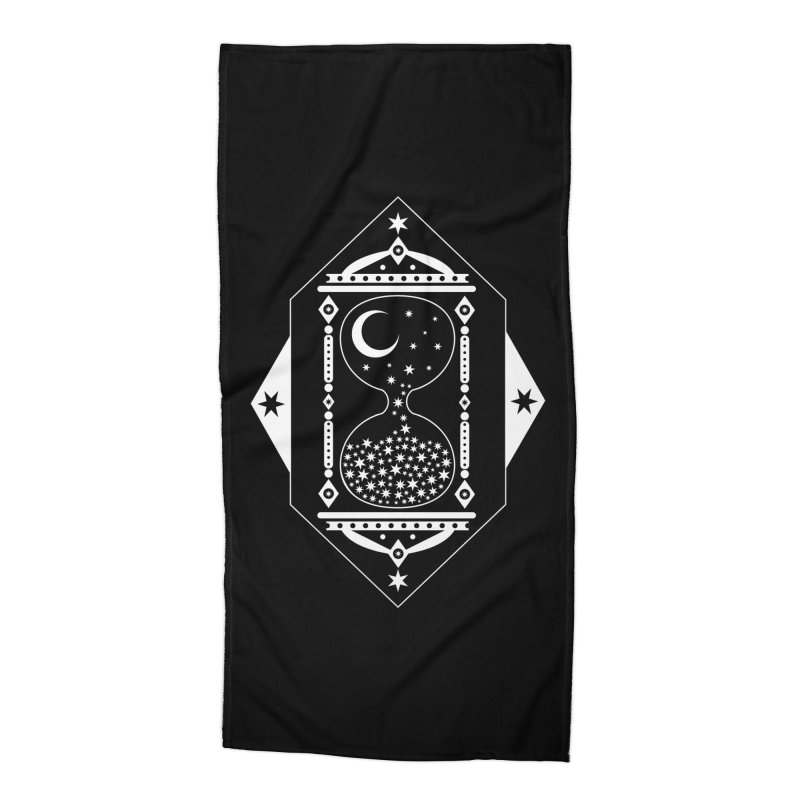 The Hours Glass Accessories Beach Towel by nikolking's Artist Shop
