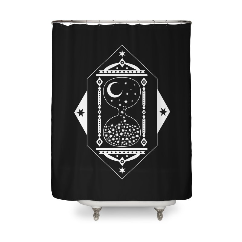 The Hours Glass Home Shower Curtain by nikolking's Artist Shop