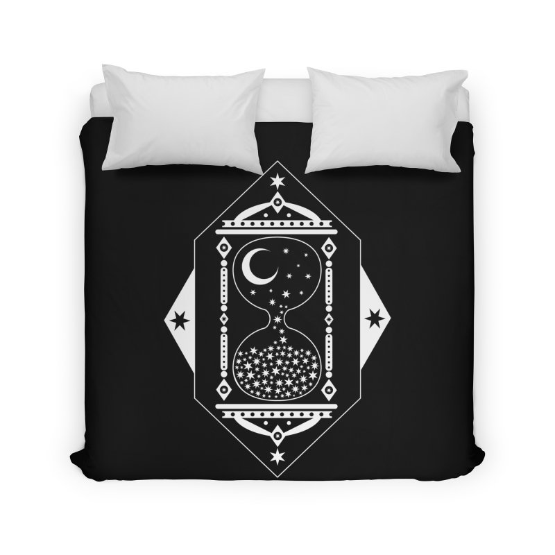 The Hours Glass Home Duvet by nikolking's Artist Shop