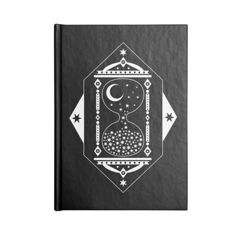 The Hours Glass Accessories Notebook by nikolking's Artist Shop