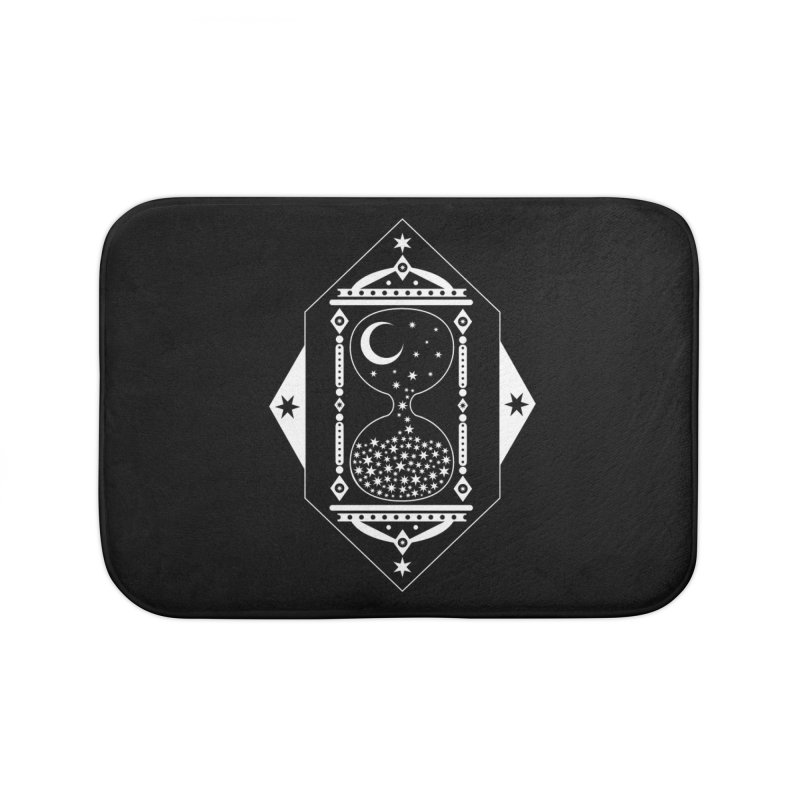 The Hours Glass Home Bath Mat by nikolking's Artist Shop