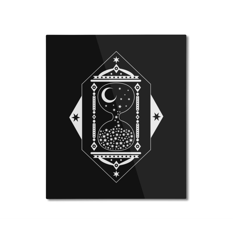 The Hours Glass Home Mounted Aluminum Print by nikolking's Artist Shop