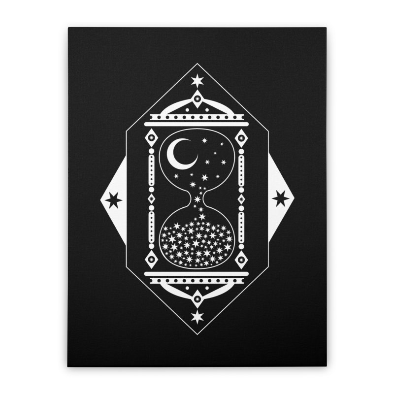 The Hours Glass Home Stretched Canvas by nikolking's Artist Shop