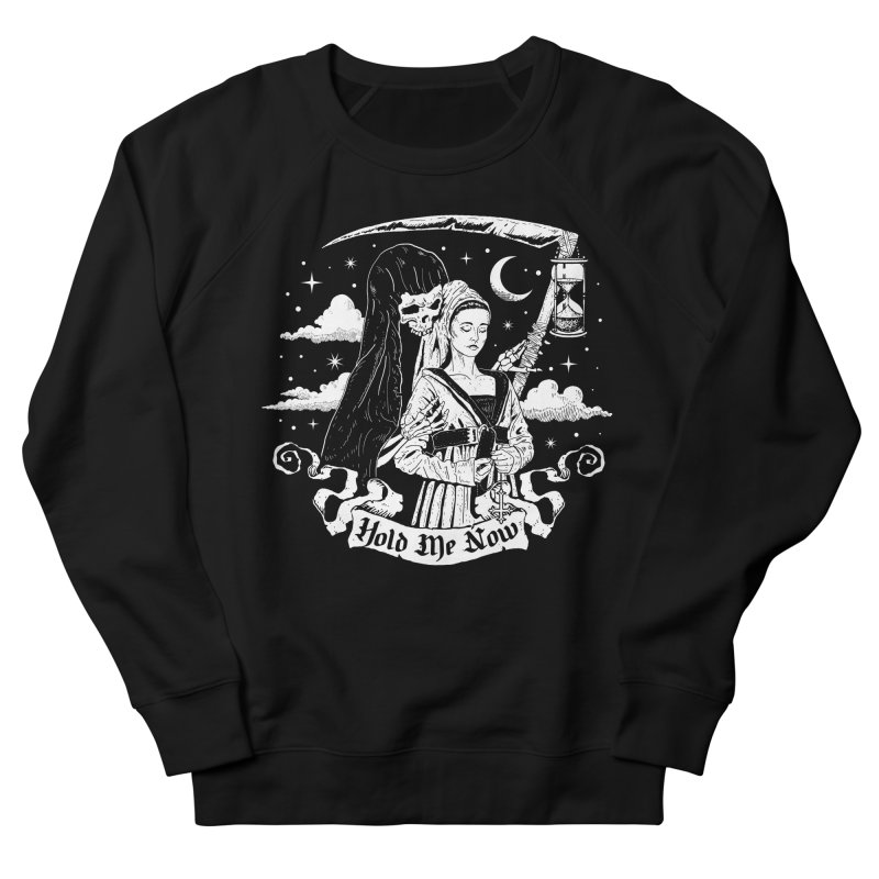 Hold Me Now Women's French Terry Sweatshirt by nikolking's Artist Shop