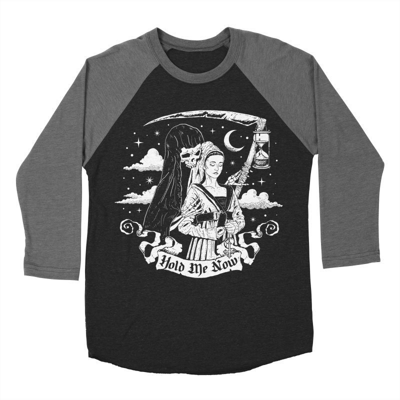 Hold Me Now Men's Baseball Triblend Longsleeve T-Shirt by nikolking's Artist Shop
