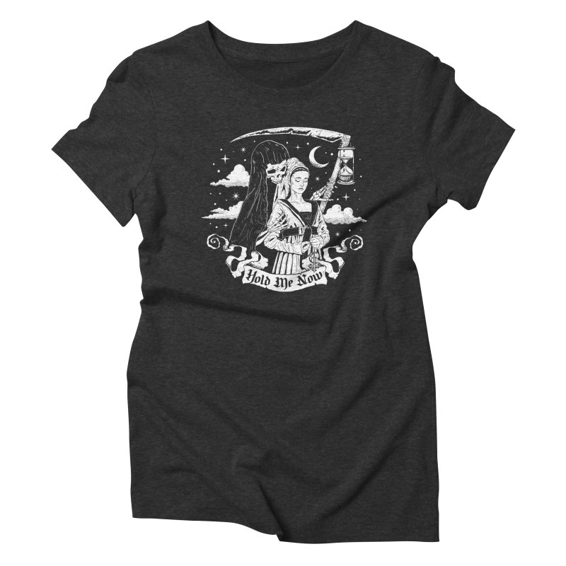 Hold Me Now Women's Triblend T-Shirt by nikolking's Artist Shop