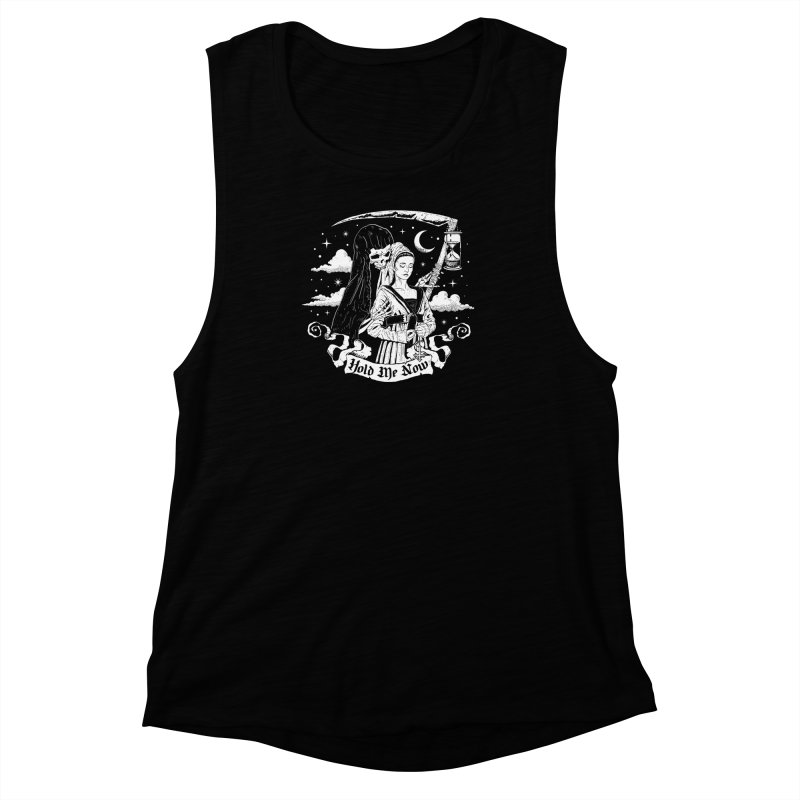 Hold Me Now Women's Muscle Tank by nikolking's Artist Shop