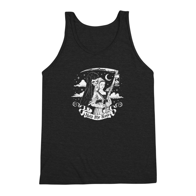 Hold Me Now Men's Triblend Tank by nikolking's Artist Shop