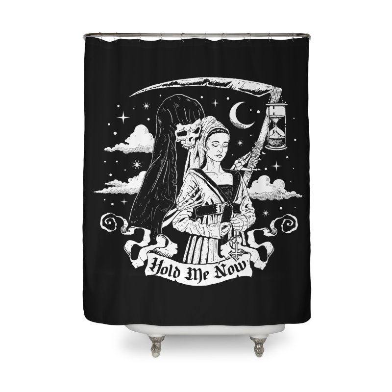 Hold Me Now Home Shower Curtain by nikolking's Artist Shop