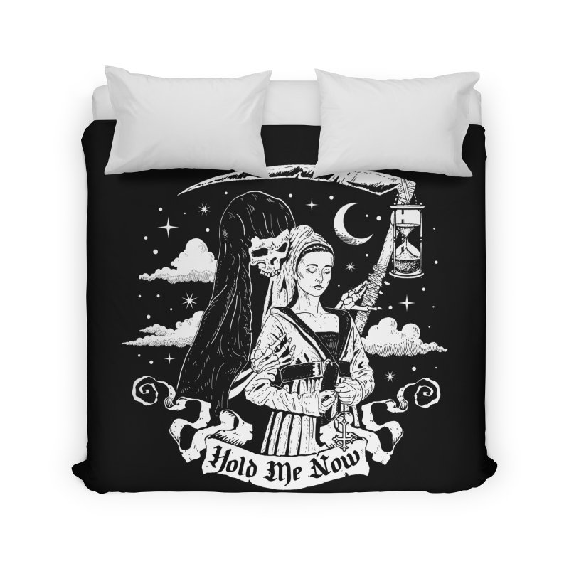 Hold Me Now Home Duvet by nikolking's Artist Shop