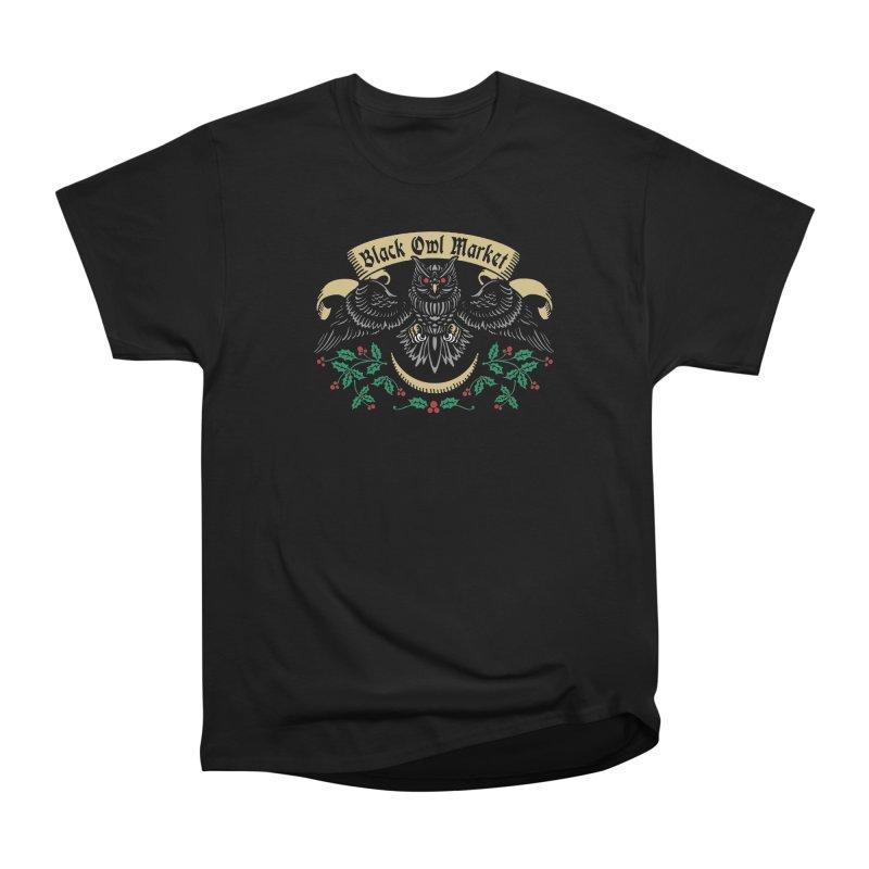 Black Owl Market Men's Classic T-Shirt by nikolking's Artist Shop