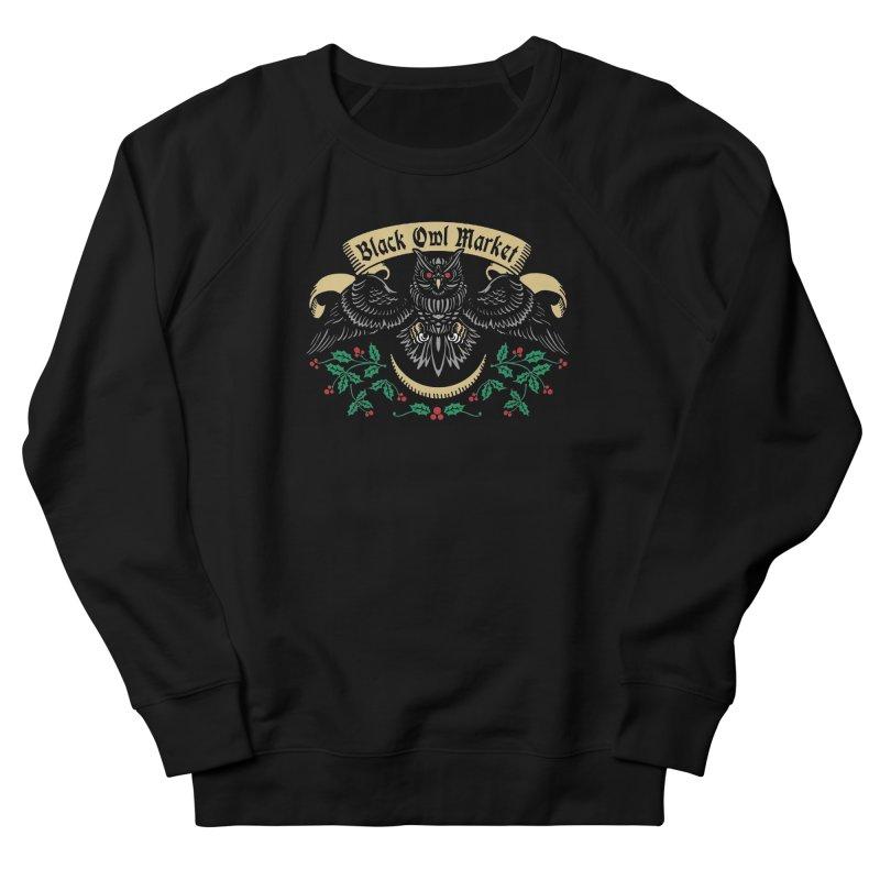 Black Owl Market Women's Sweatshirt by nikolking's Artist Shop