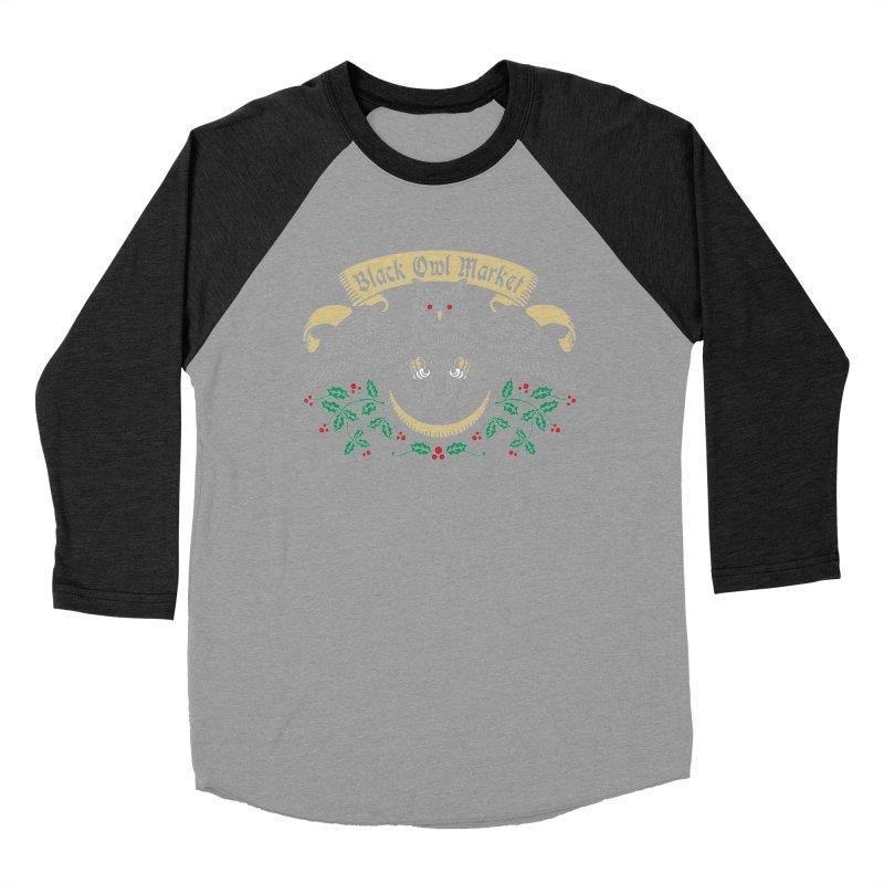 Black Owl Market Women's Baseball Triblend T-Shirt by nikolking's Artist Shop