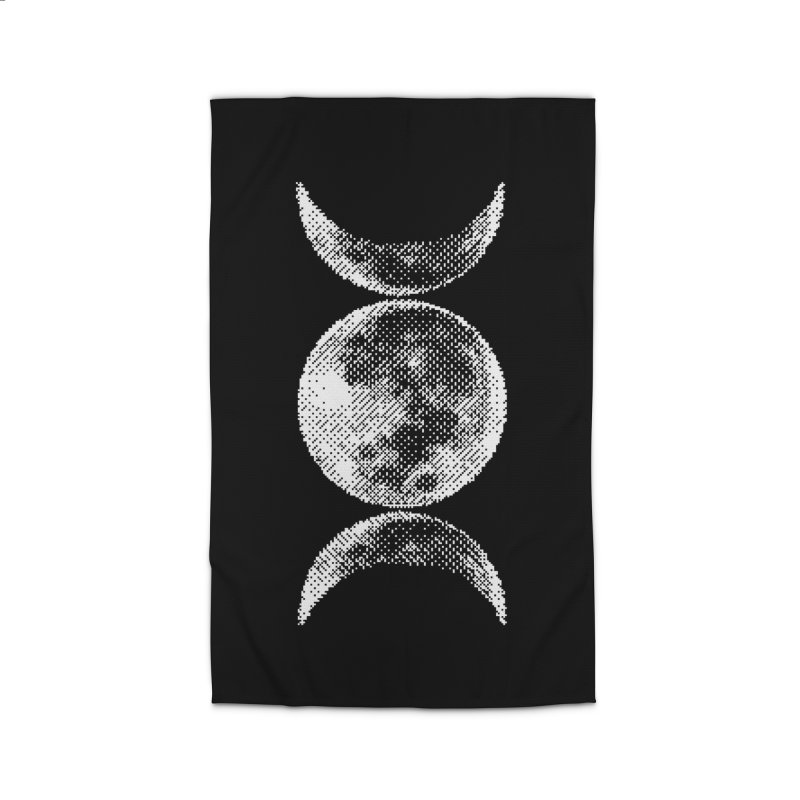 8 Bit Triple Moon Home Rug by nikolking's Artist Shop