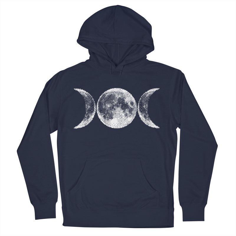 8 Bit Triple Moon Women's Pullover Hoody by nikolking's Artist Shop