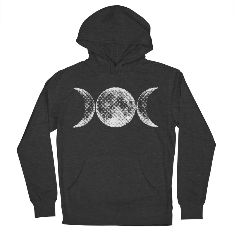 8 Bit Triple Moon Men's Pullover Hoody by nikolking's Artist Shop