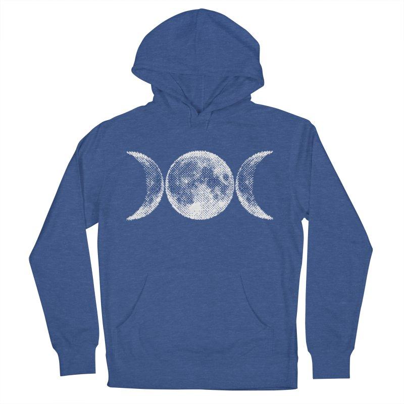 8 Bit Triple Moon Men's Pullover Hoody by nikolking's Artist Shop