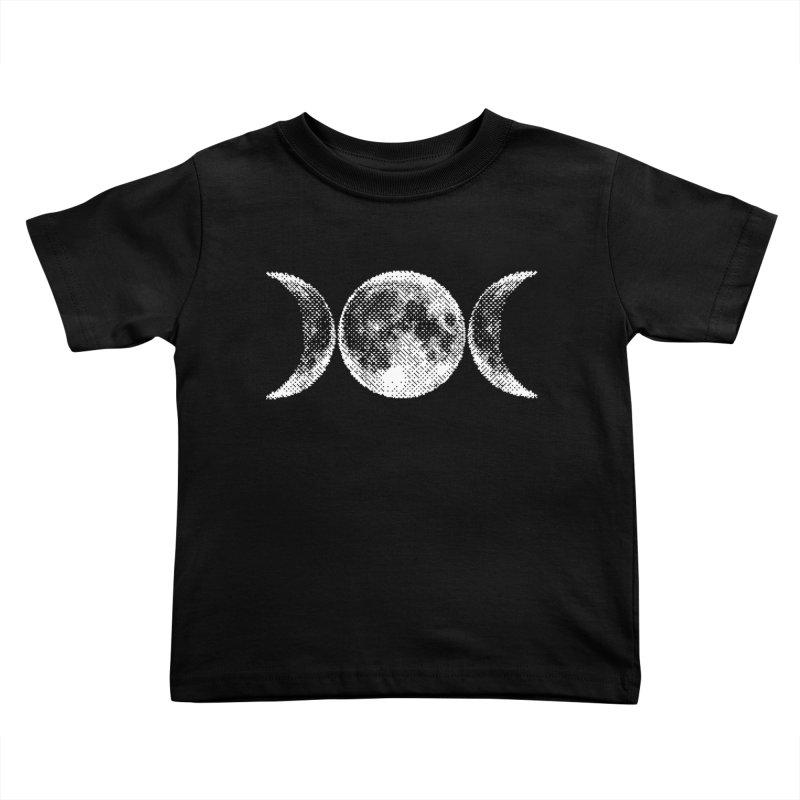 8 Bit Triple Moon Kids Toddler T-Shirt by nikolking's Artist Shop