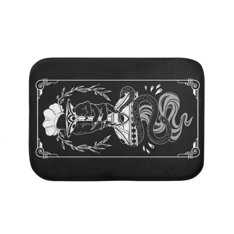 Chalice Home Bath Mat by nikolking's Artist Shop