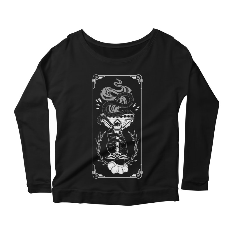 Chalice Women's Scoop Neck Longsleeve T-Shirt by nikolking's Artist Shop
