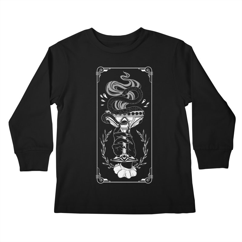 Chalice Kids Longsleeve T-Shirt by Niko L King's Artist Shop