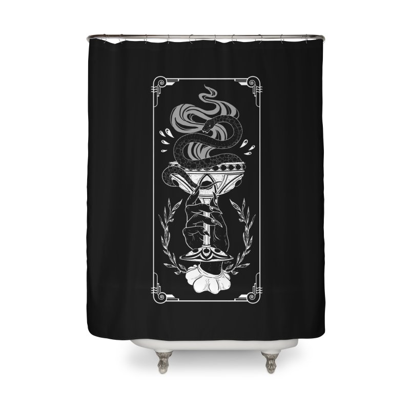 Chalice Home Shower Curtain by nikolking's Artist Shop