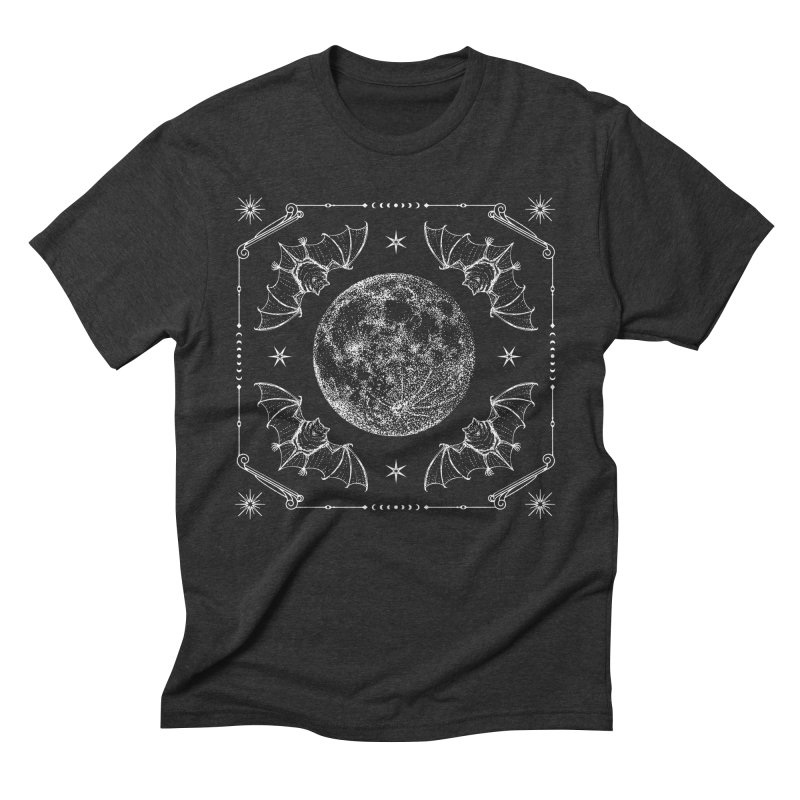 Night Ritual Men's Triblend T-Shirt by Nikol King's Artist Shop