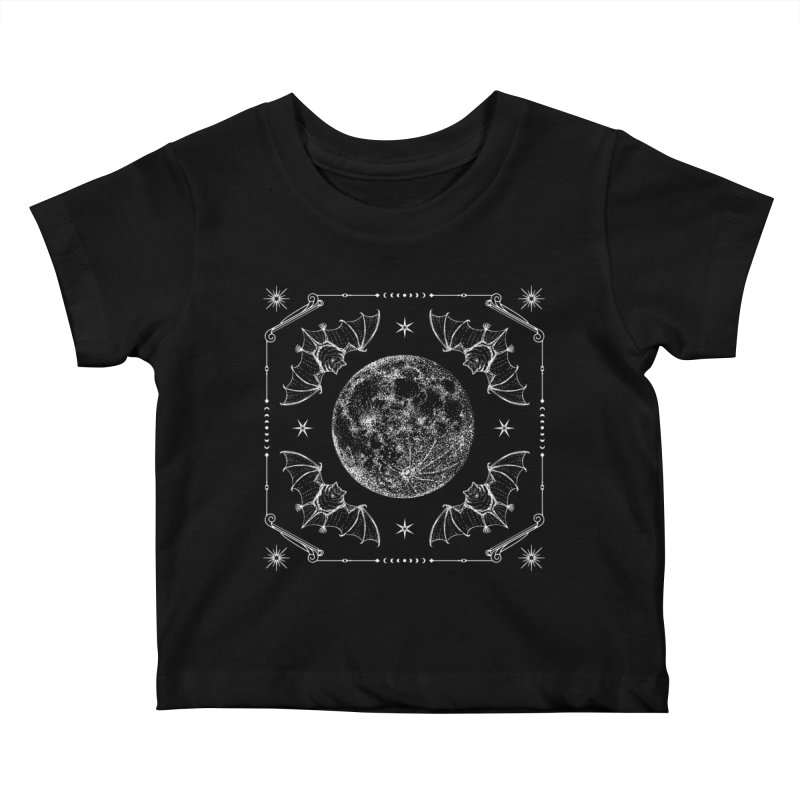 Night Ritual Kids Baby T-Shirt by Nikol King's Artist Shop