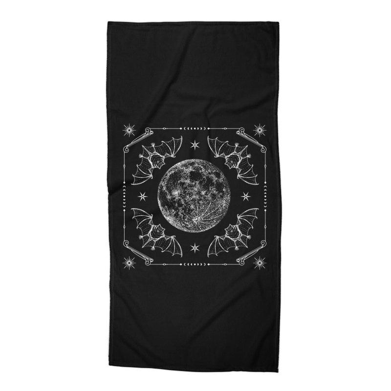Night Ritual Accessories Beach Towel by Niko L King's Artist Shop