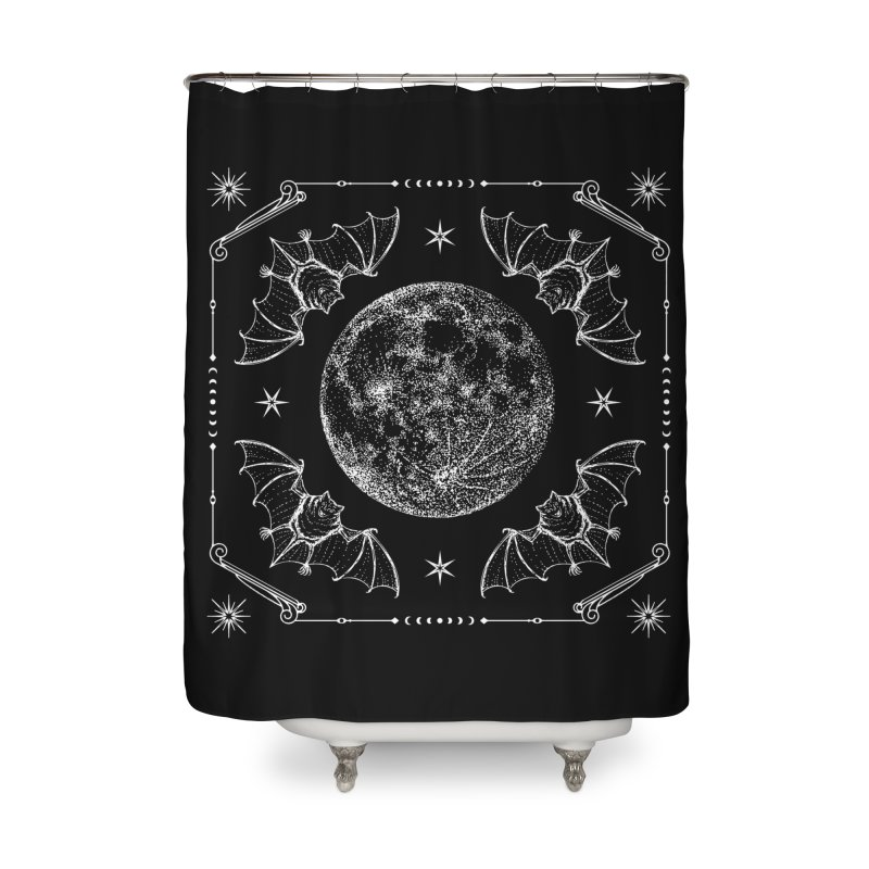 Night Ritual Home Shower Curtain by Nikol King's Artist Shop