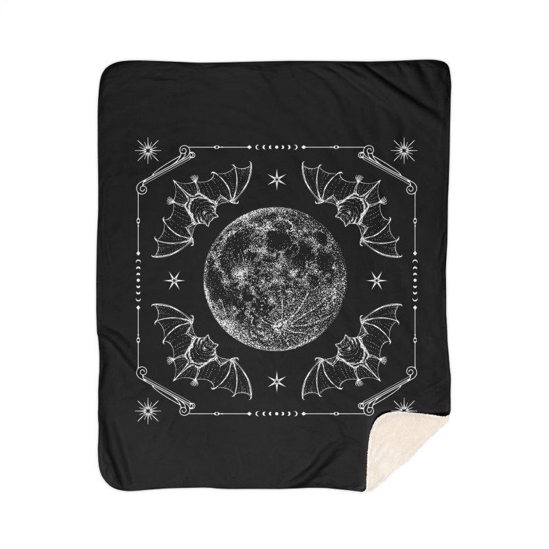 Night Ritual Home Sherpa Blanket Blanket by Nikol King's Artist Shop