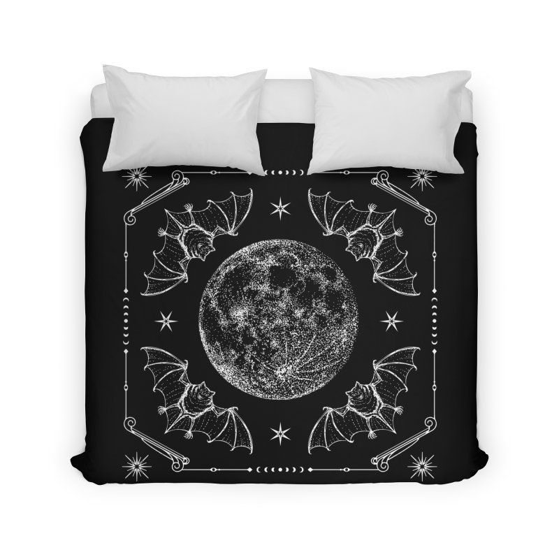 Night Ritual Home Duvet by nikolking's Artist Shop