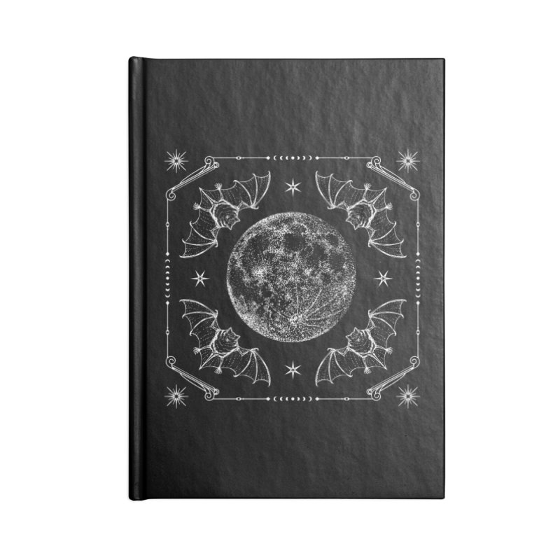 Night Ritual Accessories Lined Journal Notebook by Nikol King's Artist Shop