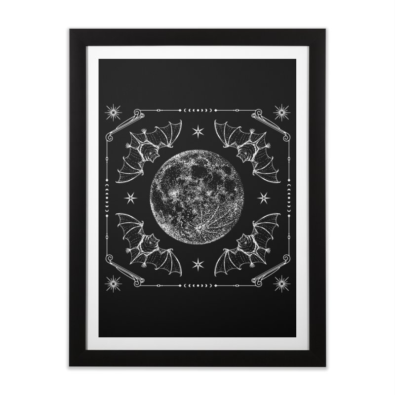 Night Ritual Home Framed Fine Art Print by nikolking's Artist Shop
