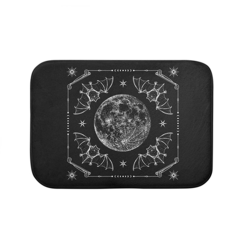 Night Ritual Home Bath Mat by Nikol King's Artist Shop
