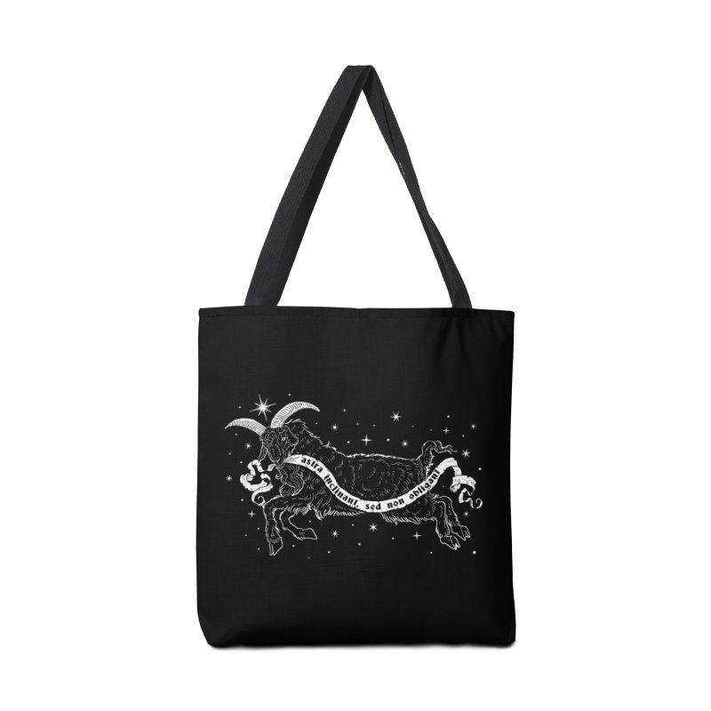 Night Goat Accessories Bag by nikolking's Artist Shop