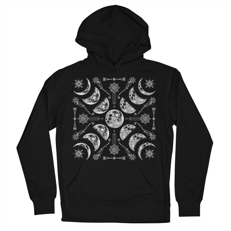 Lunar Chaos Women's French Terry Pullover Hoody by Niko L King's Artist Shop