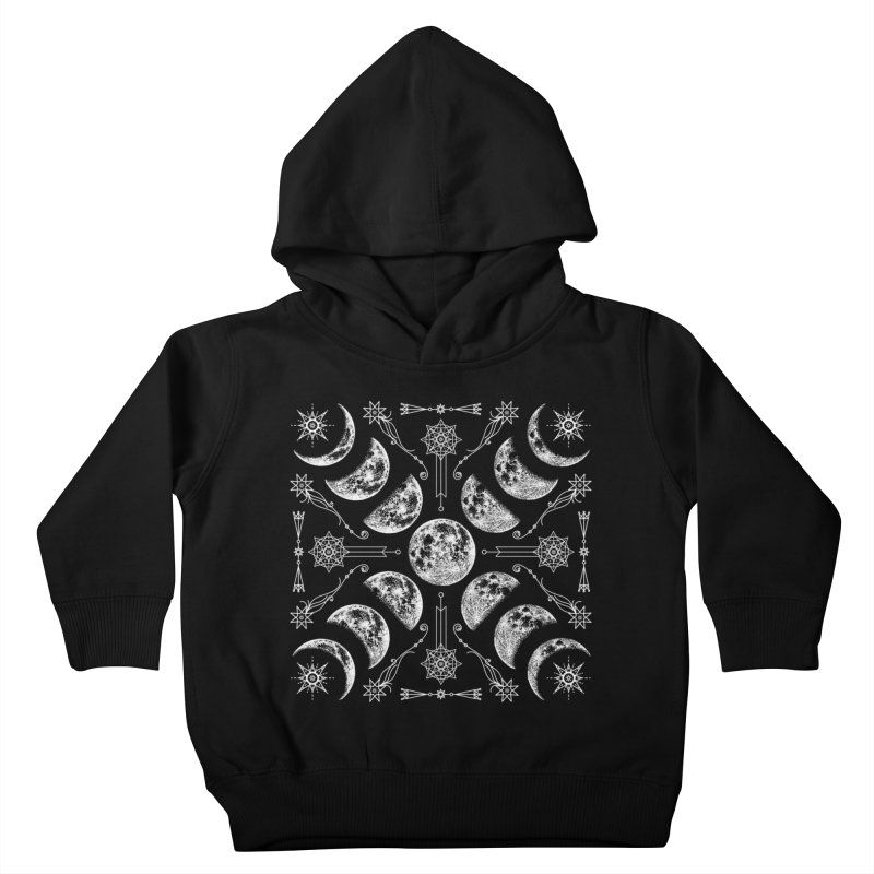 Lunar Chaos Kids Toddler Pullover Hoody by Nikol King's Artist Shop