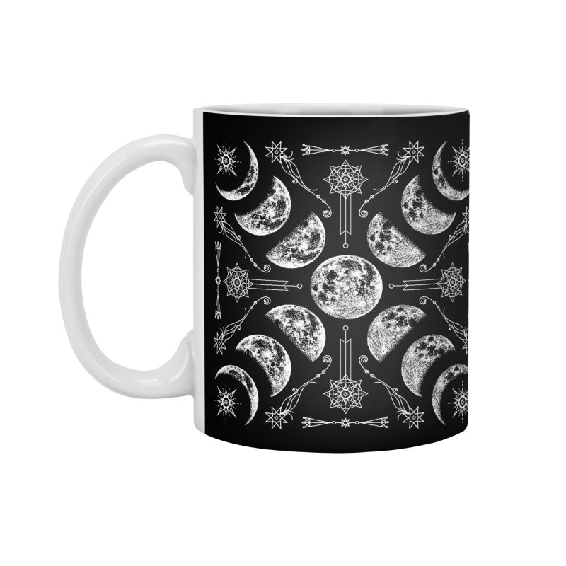 Lunar Chaos Accessories Mug by Niko L King's Artist Shop