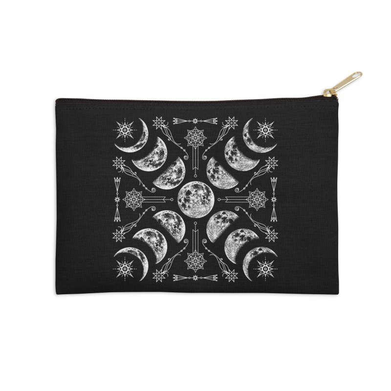 Lunar Chaos Accessories Zip Pouch by nikolking's Artist Shop