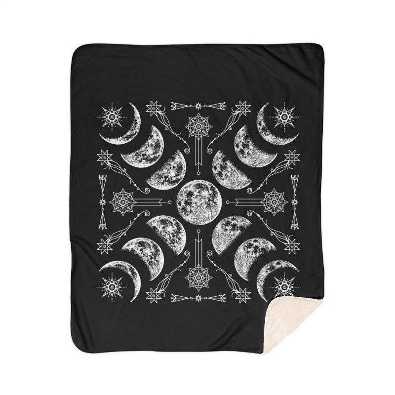 Lunar Chaos Home Sherpa Blanket Blanket by Nikol King's Artist Shop